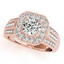 nice engagement rings images Rose gold engagement rings diamonds cubic zirconia cz jpg