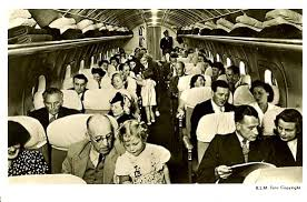Lockheed Constellation Interior Famgus Aviationpostcards Trans World Airlines