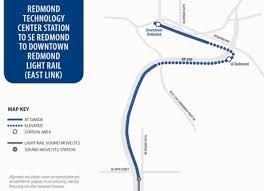 Seattle Link Light Rail Map by Redmond Light Rail Station Planning The Urbanist