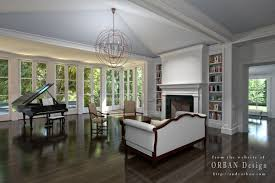 georgetown mansion interior and exterior renderings