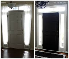 interior design cool painting interior doors black before and