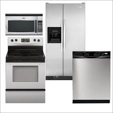 home depot kitchen appliance packages kitchen 4 piece stainless steel kitchen appliance package in