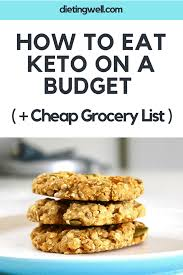 how to eat keto on a budget cheap grocery list