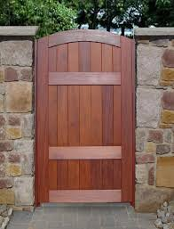 Patio Gate Door  Our Wooden Timber Garden And Driveway Gates - Backyard gate designs