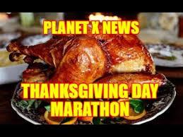 planet x news thanksgiving day marathon