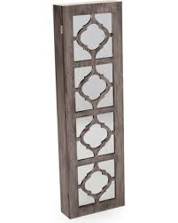 Quatrefoil Room Divider New Savings On Belham Living Lighted Locking Quatrefoil Wall Mount