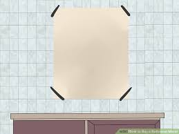 how to buy a bathroom mirror with pictures wikihow