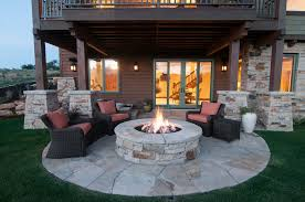 covered outdoor seating best outdoor fire pit ideas to have the ultimate backyard getaway