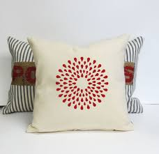 red and blue decorative pillows red decorative pillows for