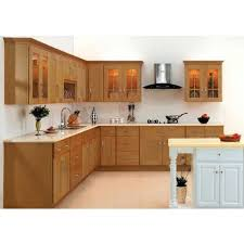 wooden kitchen cabinet at rs 2400 square solid wood