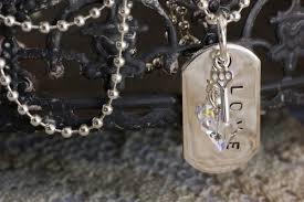 swarovski dog necklace images Swarovski crystal catie raymond designs jpg