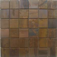 copper kitchen backsplash tiles discount mosaic tiles 2x2 squared copper kitchen backsplash tile