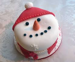 christmas cake u2013 snowman decorations u2013 happy holidays