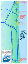 Edgewater Florida Map by Beach Lot Parking Pass Information New Smyrna Beach Fl