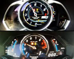 lamborghini aventador speedometer lamborghini huracan vs aventador 0 300 km h race autoevolution