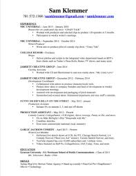 Film Crew Resume Classification Essay On Church Goers Types Of Essays Resume Cover