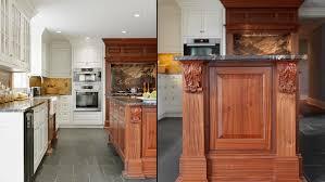 bespoke kitchen silver maple construction