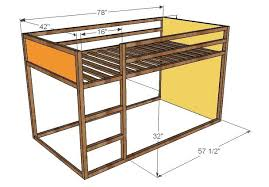fort bunk bed plans loft white how to build a projects furniture 8359