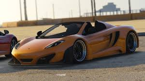 custom mclaren mp4 12c 2014 mclaren mp4 12c gt3 spider gta5 mods com