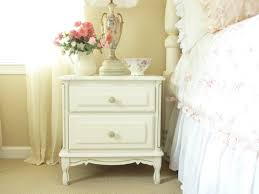White French Bedroom Furniture by Bedroom Furniture Combined White Wooden Nightstand Quilted Cream