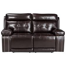 signature design by ashley graford leather match power reclining
