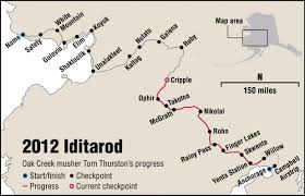 Iditarod Map Routt County In Photos March 3 Steamboattoday Com