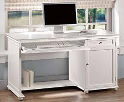 White Computer Desks For Home Small White Computer Desk Freedom To