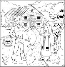 the prodigal son returns coloring book u2013 good treasure tales