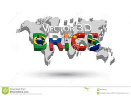 World Map India by Brics And 3d World Map Association Of 5 Countries Brazil