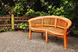 Wooden Garden Furniture Ideas Wooden Garden Bench Stock Photo Picture And Royalty Free Image