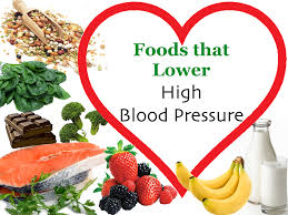 a list of foods that lower high blood pressure and reduce