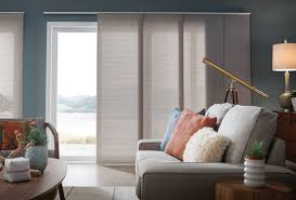 panel track shades comfortex window coverings