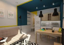 Tiny European Studio Condo Apartment Design Concept Small Design - European apartment design