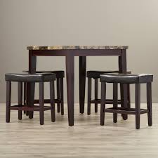 round table bar furniture pub table and chairs ashley furniture dining table
