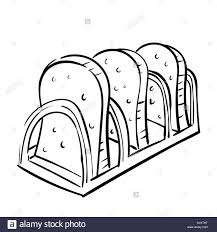 slice of bread black and white stock photos u0026 images alamy