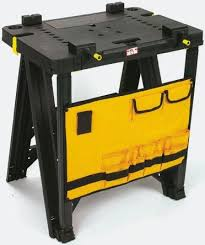 stanley folding work table 1 92 045 stanley folding workbench pouch 250kg max load 456