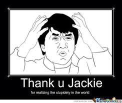 Jackie Meme - thank you jackie by freakonalish meme center