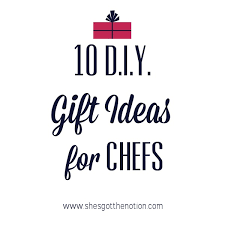 gift ideas for chefs 10 for tuesday diy gift ideas for the chef
