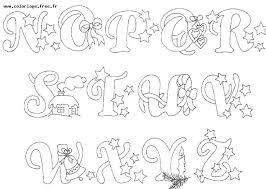 dessins lettre de l u0027alphabet éducatifs
