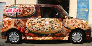 pizza mustang pizza vehicle wraps pizza themed vehicle wraps