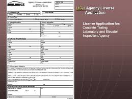 agenda license applications license applications insurance
