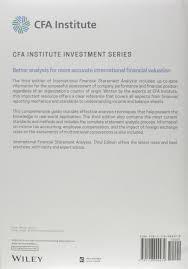 international financial statement analysis thomas r robinson