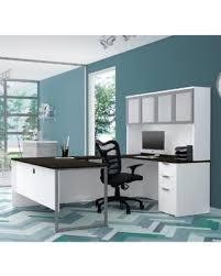 Bestar U Shaped Desk New Savings On Bestar Pro Concept Plus U Desk With Frosted Glass