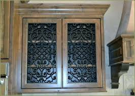 metal cabinet door inserts punched tin cabinet panels metal cabinet door chic tin cabinet door