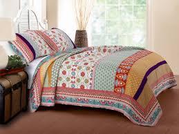 thalia quilt set 3 piece king gl 1606amsk global vintage quilt