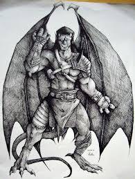 gargoyles goliath gargoyles by charcoal almighty deviantart com on