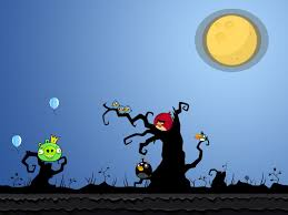 new halloween wallpapers angry bird wallpapers group 86