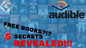 how to get free books on audible legally youtube