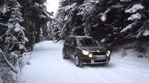 Skoda Yeti Off Road Snow Youtube