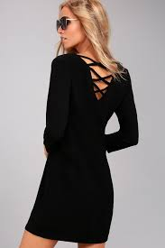 sleeve dress by bb dakota luther dress black sleeve dress